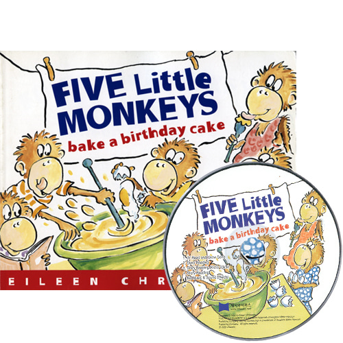 베오영 Five Little Monkeys Bake a Birthday Cake