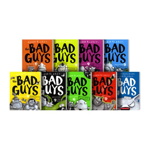 The Bad Guys 01~09 Set