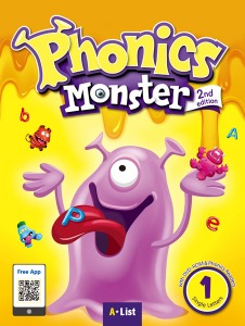 Phonics Monster Student Book 1 (2nd Edition)
