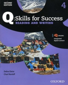 (2nd) Q Skills for Success Reading & Writing Student Book 04