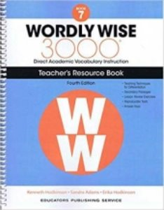 Wordly Wise 3000 4E 7 Teacher's Resource Book