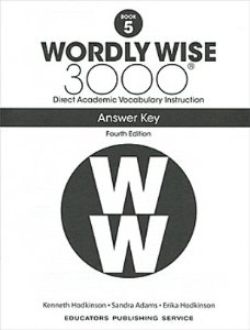 Wordly Wise 3000 4E 5 Answer Key