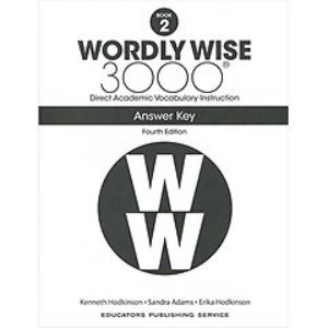 Wordly Wise 3000 4E 2 Answer Key