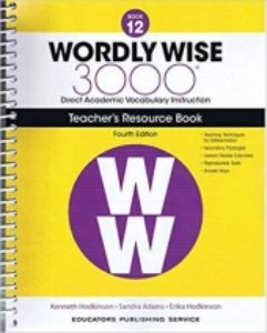 Wordly Wise 3000 4E 12 Teacher's Resource Book