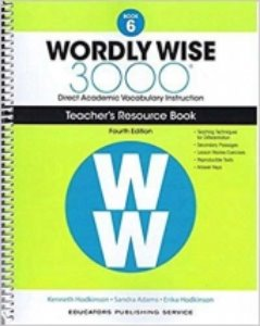 Wordly Wise 3000 4E 6 Teacher's Resource Book