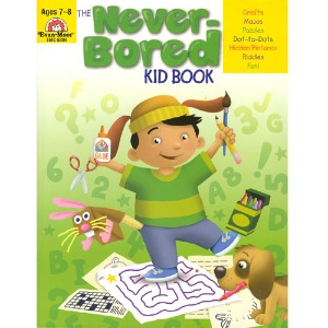 The Never-Bored Kid books 1 Ages 7-8