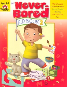 The Never-Bored Kid books 2 Ages 6-7