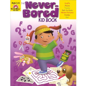 The Never-Bored Kid books 1 Ages 5-6