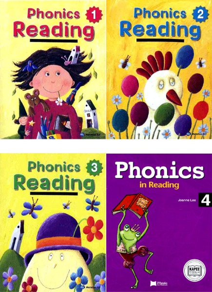 Phonics Reading 1~4 Set
