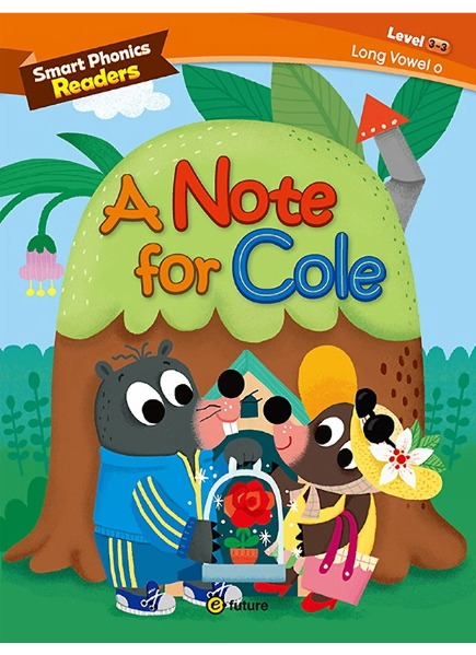 Smart Phonics Readers 3-3 : A Note for Cole