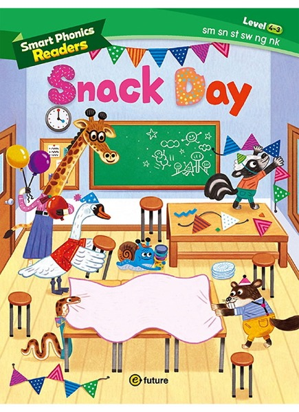 Smart Phonics Readers 4-3 : Snack Day