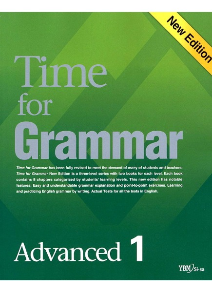 Time for Grammar Advanced 1 (New Edition)