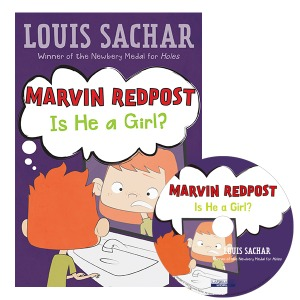Marvin Redpost #3:Is He a Girl? (B+CD)