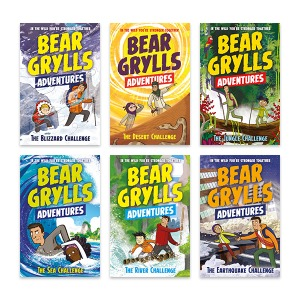 Bear Grylls Adventures 1~6 Book+CD+wordbook Full Set