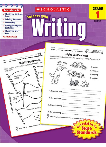 Scholastic Success with Writing Grade 1