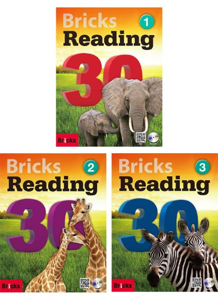 Bricks Reading 30 1 2 3 Set (Student Book + Work Book + CD)