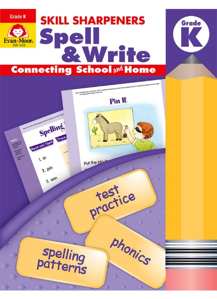 Skill Sharpeners Spell & Write K (SB+CD)