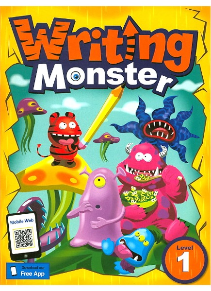 Writing Monster Student Book with Portfolio Book 1