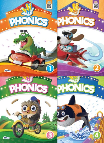 Hi Phonics Student Book 1 2 3 4